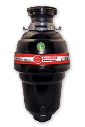 1 4 Mountain Plumbing MT888-2CFWD Perfect Grind Waste Disposer Continuous Feed
