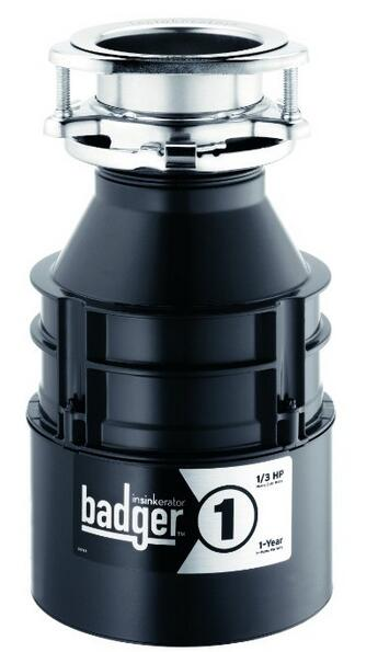 Badger 1 1 3 HP Household Garbage Disposer 428s74