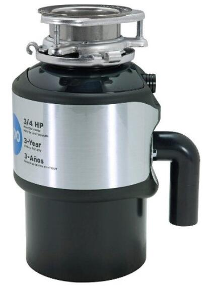 InSinkErator Badger 900 3 4 HP Continuous Feed Garbage Disposer