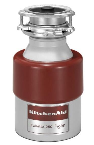 Kitchen Aid KCDB250G 1 2 HP Continuous Feed Garbage Disposal