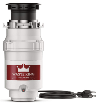best compact garbage disposal unit