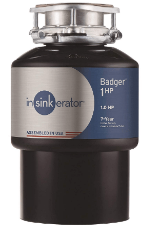 insinkerator 1hp garbage disposal