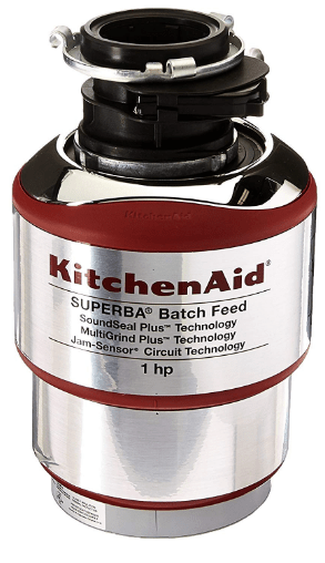 kitchenaid batch feed garbage disposal