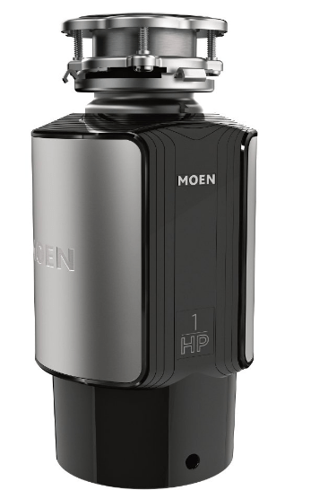 moen 1hp garbage disposal