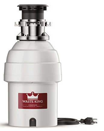 1hp batch feed garbage disposal