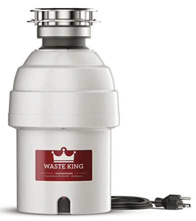 waste king 1hp garbage disposal