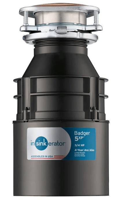 best continuous feed compact garbage disposal