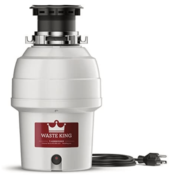 waste king 3/4 hp garbage disposal