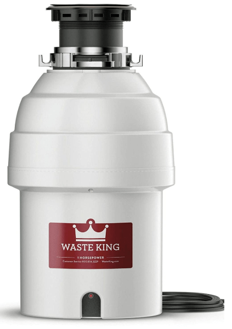 waste king continuous feed garbage disposal
