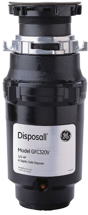 1 3 hp garbage disposal continuous feed