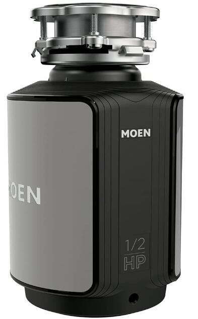 moen garbage disposal continuous under 150