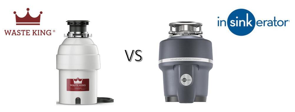 waste king vs insinkerator garbage disposal