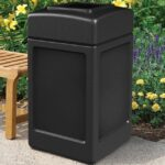 Best 13 Gallon Outdoor Trash Can for Garage, Patios, Decks, Gardens and Bussiness