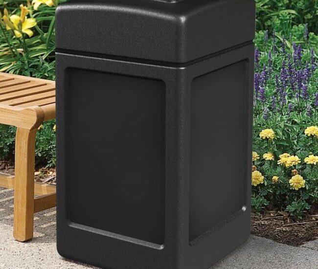 outdoor 13 gallon trash cans