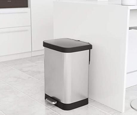 best 13 gallon step trash can reviews