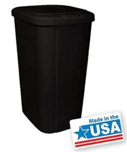 SuperTrading 13 gallon outdoor trash can with touch lid