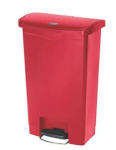 Rubbermaid 13 gallon kitchen trash can with lid