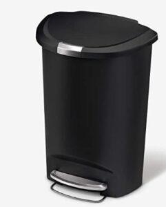 13 gallon step kitchen trash can