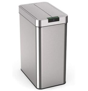 homelabs 13 gallon garbage can with durable construction