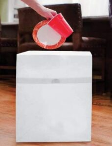 disposable pop up trash cans