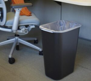 best value office 13 gallon trash can