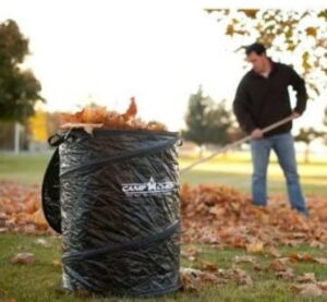 35 gallon pop up trash can for camping