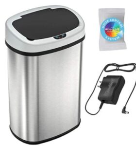 13 gallon alluminum garbage can for office
