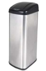 slim 13 gallon trash can for small office