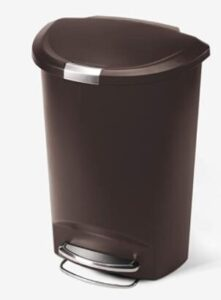 simplehuman 13 gallon large trash can for office
