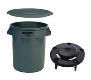 20 gallon plastic round trash can
