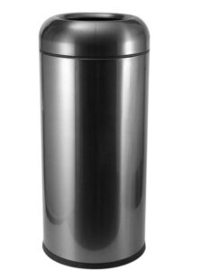 30 gallon brushed garbage container
