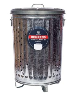 Behrens 20 gallon garbage can with locking lid