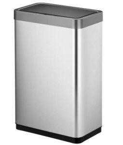 20 gallon stainless steel sensor trash bin