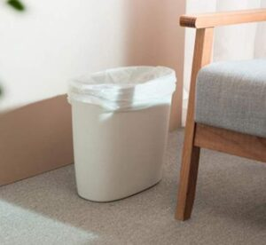 Feiupe 4 gallon garbage can for kitchen and office