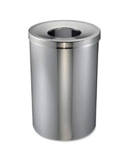 30 gallon open top garbage bin for office