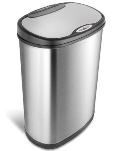 cheap 13 gallon oval trash can for kitchen