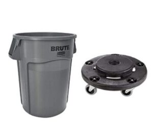 30 gallon plastic wheeled garbage container