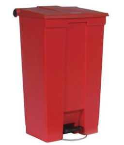 23 gallon slim jim trash bin for outdoor