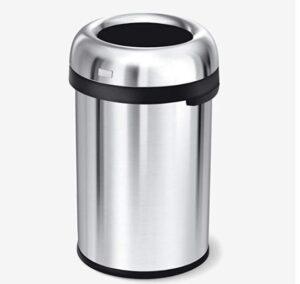 Simplehuman 30 gallon stainless steel garbage bin