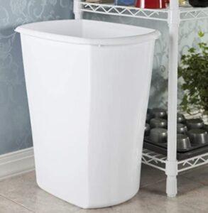 10 gallon plastic home garbage bin