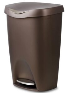 cheap and stylish 13 gallon trash can with lid