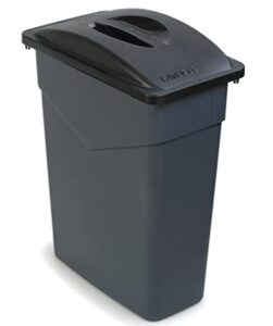15 gallon trash can for kitchen with lid