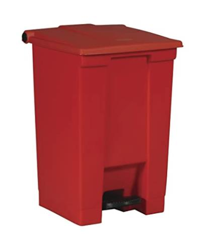 12 gallon plastic trash can for kitchen