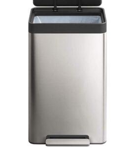 Kohler K-20940-ST stainless steel garbage bin for office