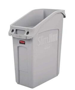 Rubbermaid 2026695 trash can with 13 gallon capacity