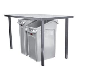Rubbermaid 2026695 under desk garbage can