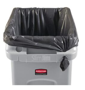 Rubbermaid 2026695 plastic trash can for indoor