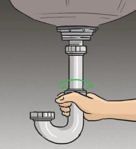 how to remove power cord from garbage disposal