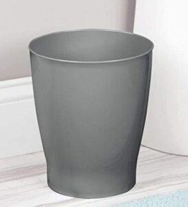 plastic open top bathroom garbage bin