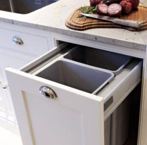 trash can kitchen